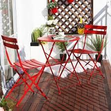 3 pcs outdoor folding rocking chair