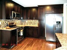best wall color for kitchen with dark cabinets kitchen wall color ideas with dark cabinets kitchen