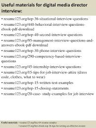 digital marketing resume sample x digital media    top  digital media director resume samples    digital media director resume