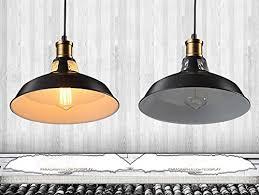 Lampadario Cucina Vintage : Splink vintage industriale lampadario a soffitto metallo ombra