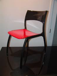 Carbon Fiber Chair Lot Detail Talon Ferrari Dual Autographed Schumacher Raikkonen