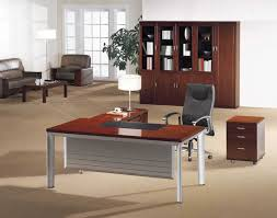 affordable home office desks. How To Choose Affordable Home Office Desks : Modern Decoration With Brown Desk L