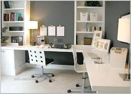 two person home office desk. Desks For Two Interior Home Office Ideas Elegant Tier Desk Amazing House . Computer Monitors Person