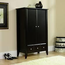 Sauder Bedroom Furniture Amazoncom Sauder Shoal Creek Armoire Oak Kitchen Dining