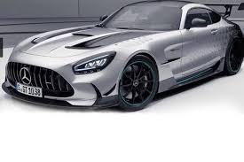 The car has five motors with different functions on board: Mercedes Amg Gt Black Series P One Edition What Is Special