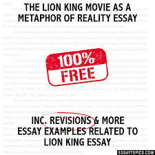 lion king movie as a metaphor of reality essay the lion king movie as a metaphor of reality essay