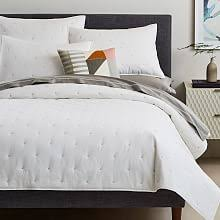 Modern Quilts & Coverlets | west elm & Organic Washed Cotton Quilt + Shams Adamdwight.com