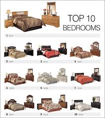 top bedroom furniture. Top 10 Bedroom Sets By Ashley Furniture Spring 2013 Names Of Pieces E