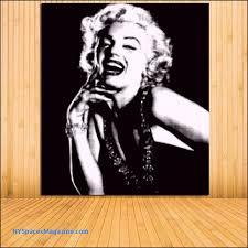 unframed black and white pop art marilyn monroe audrey hepburn modern wall art picture print home