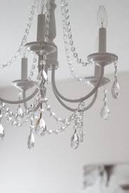 you can make your own diy crystal chandelier this site shows you how
