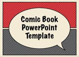Story Book Powerpoint Template Comic Book Presentation Templates
