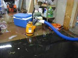 flooded basement cleanup water