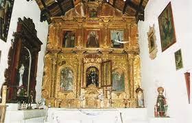Foto del Retablo de la Iglecia de Uquía, en la Quebrada de Humahuaca,  provincia de Jujuy. - GrandeArgentina.com