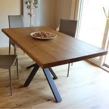Made In Italy Massivholz Und Esszimmertisch Aus Metall Darvina