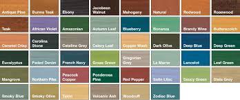 Sadolin Wood Stain Colour Chart Www Bedowntowndaytona Com
