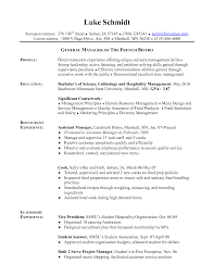 Chef Sample Resume Objective Awesome For Cook Of Pizza Job