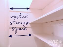 what to do with wasted space in your pantry