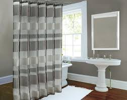 modern grey shower curtain. Curtains Horizontal Stripes Exquisite Modern Grey Shower Curtain And White Striped Sheer: Full Size D