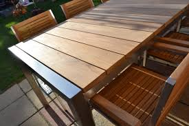 view the full image ultra modern teak slat set