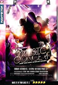 Concert Flyers Templates Concert Flyers Templates Music Band Flyer Template Home Improvement