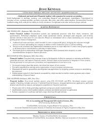 Accounting Auditor Resume Updated Download Auditor Resume Sample