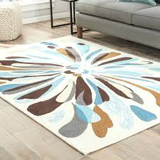blue and brown rug cream blue brown indoor outdoor area rug chocolate brown and blue bath