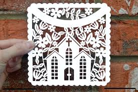 Church Svg Designs Church Paper Cut Svg Dxf Eps Files By Digital Gems