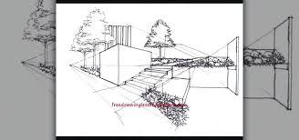 Simple architectural drawings Building How To Draw Simple Landscape Unique Simple Architectural Sketches And Landscape Drawing For Beginners How How To Draw Simple Landscape Flyingangelsclub