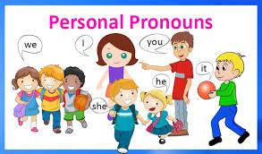 test subject pronoun