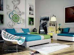 modern bedroom green. Image Of: Modern Bedroom Wall Decor Cool Green A