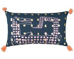 otis furniture. Interesting Furniture Otis The Alligator Tassel Cushion To Furniture