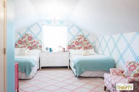 Girl Tween Room Decor Ideas Gold Pink Turquoise