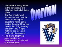 pictorial essay by laura broccolo kara driscoll david koczifka  the theme of igniting one s passion for villanova will be reflected in these chapters
