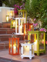outdoor candles lanterns and lighting. Colorful Candle Lantern Lighting Outdoor Candles Lanterns And A