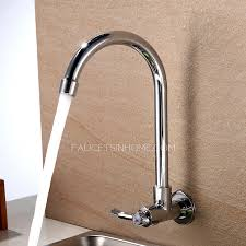 brilliant wall and kitchen wall faucet