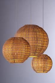 Best 25 Rattan Light Fixture Ideas On Pinterest Rattan Lamp