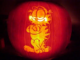 Advanced Pumpkin Carving Patterns Best Garfield Pumpkin Free Pumpkin Carving Pattern