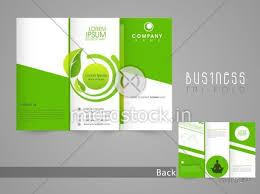 stylish page stylish save nature brochure tri fold or template design with front