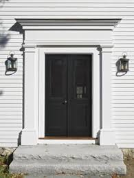 Center Hall Colonial Front Door - Google Search  Pinterest