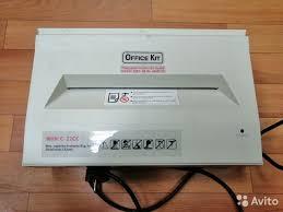 Уничтожитель бумаг office KIT С-<b>22сс</b> 2x2 мм шредер купить в ...