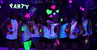 Black Light Hire Black Light Sweet 16 Party Freshers Party Neon Party