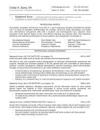 Entry Level Rn Resume Examples Entry Level Resume Examples Examples