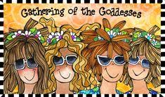 Image result for gathering of goddesses