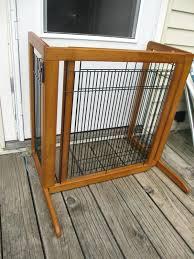 wooden dog gate dog gates outdoor free standing designs freestanding wooden dog gate with door wooden dog gate