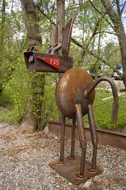 Creative Ideas for Mailbox Design Creative Metals and Yard art