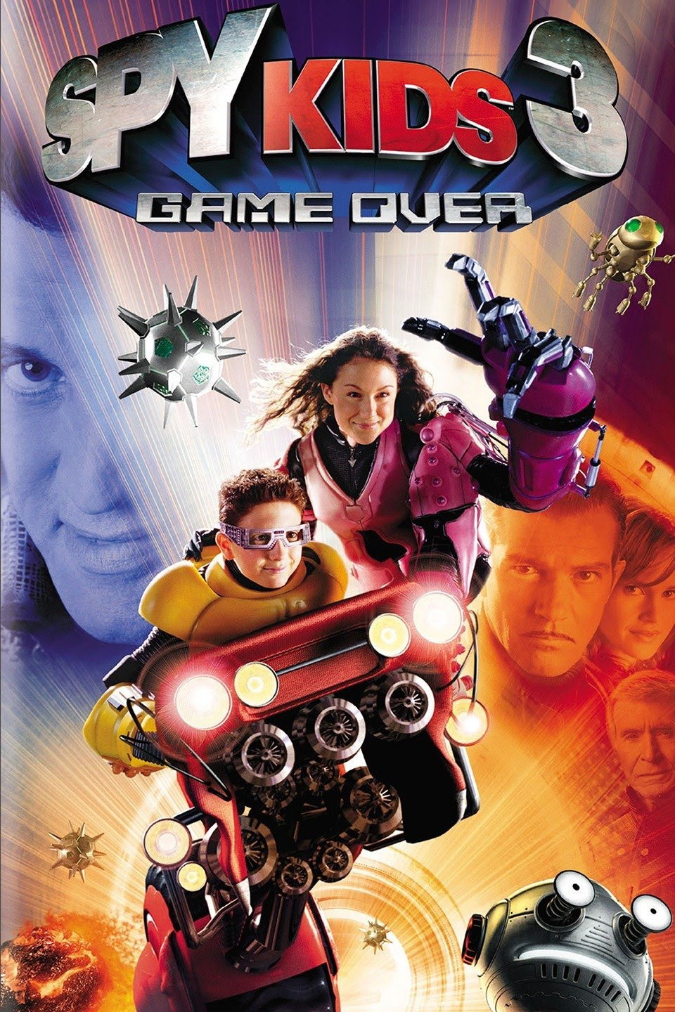 Spy Kids 3: Game Over (2003) Multi Audio {Hindi-English-Tamil-Telugu} 720p