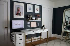 home office solution. Small Space Solution: Fitting An Home Office And Living Room Into 150 Square Feet Solution C