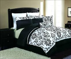 white and black comforter sets queen bedroom awesome twin bedspread full size 8