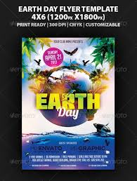Graphicriver Earth Day Flyer Template