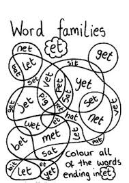 Word Family Coloring Pages Word Family Coloring Pages Magdalene Project Org